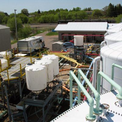 nhà máy xử lý chất thải