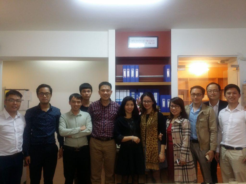 Sông Hồng ICT Media tới thăm Sông Hồng ICT Phương Nam