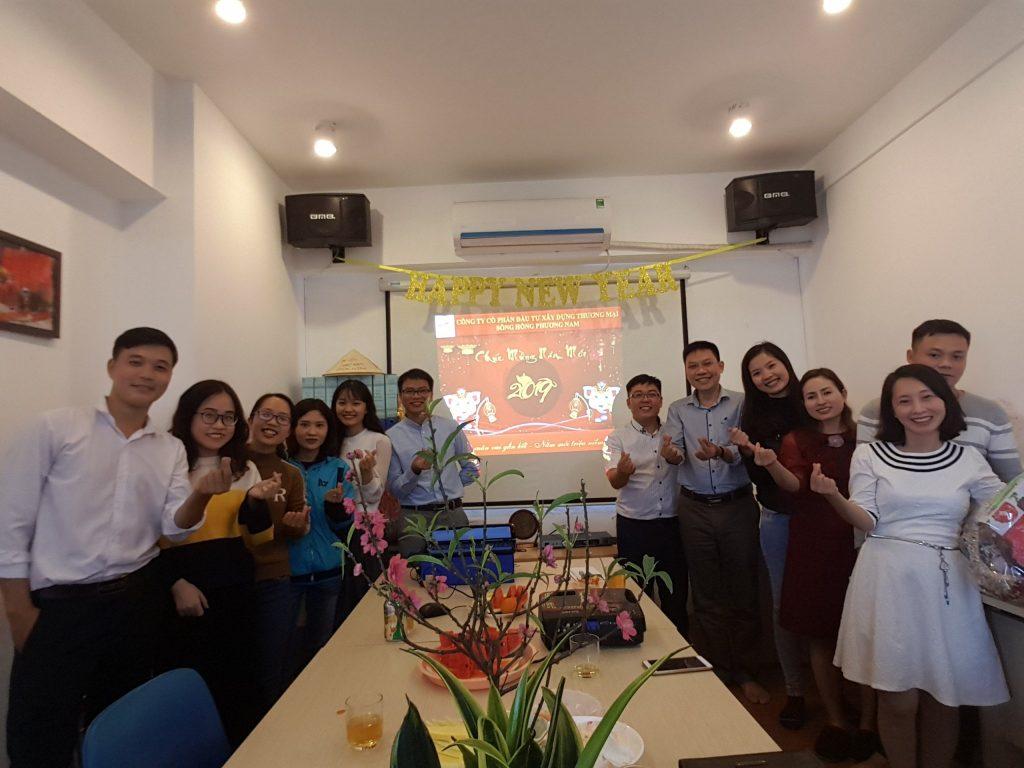 Sông Hồng ICT Phương Nam mừng xuân Kỉ Hợi 2019