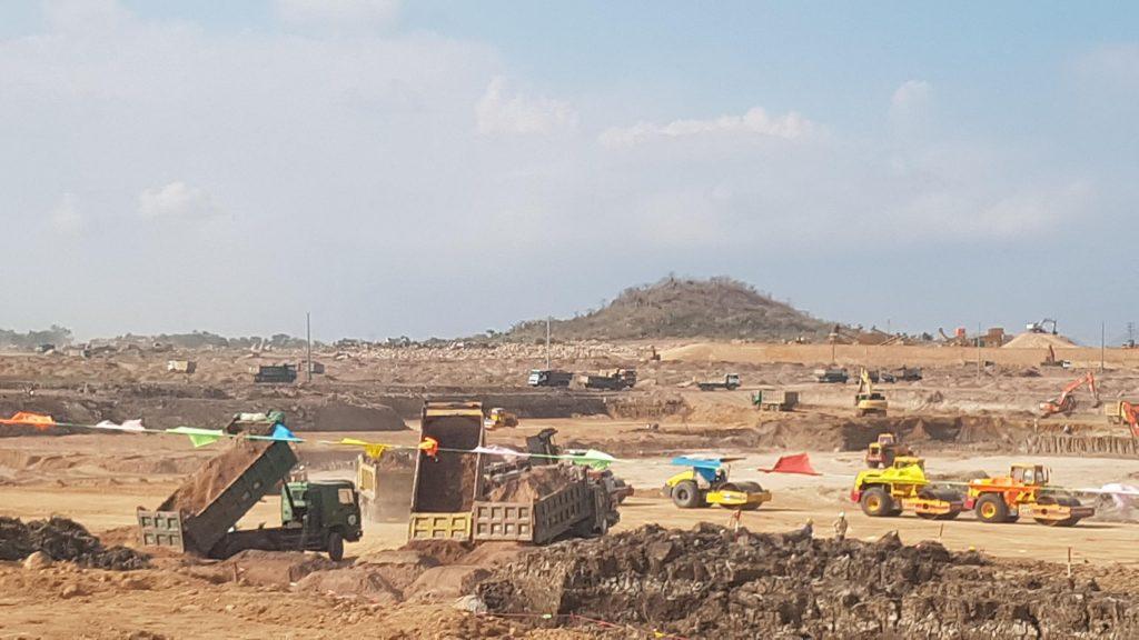 Sông Hồng ICT Phương Nam thăm công trường Dự án Nhà máy lọc hóa dầu Long Sơn