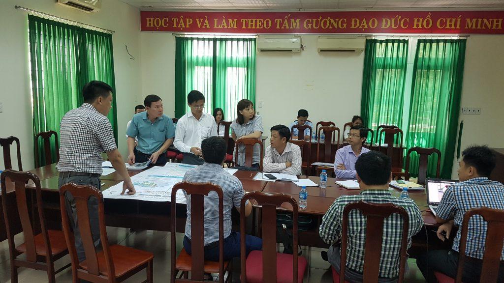 UBND TP Vũng Tàu và Sông Hồng ICT Phương Nam họp bàn về việc triển khai Dự án Khu nhà ở Long Sơn 1