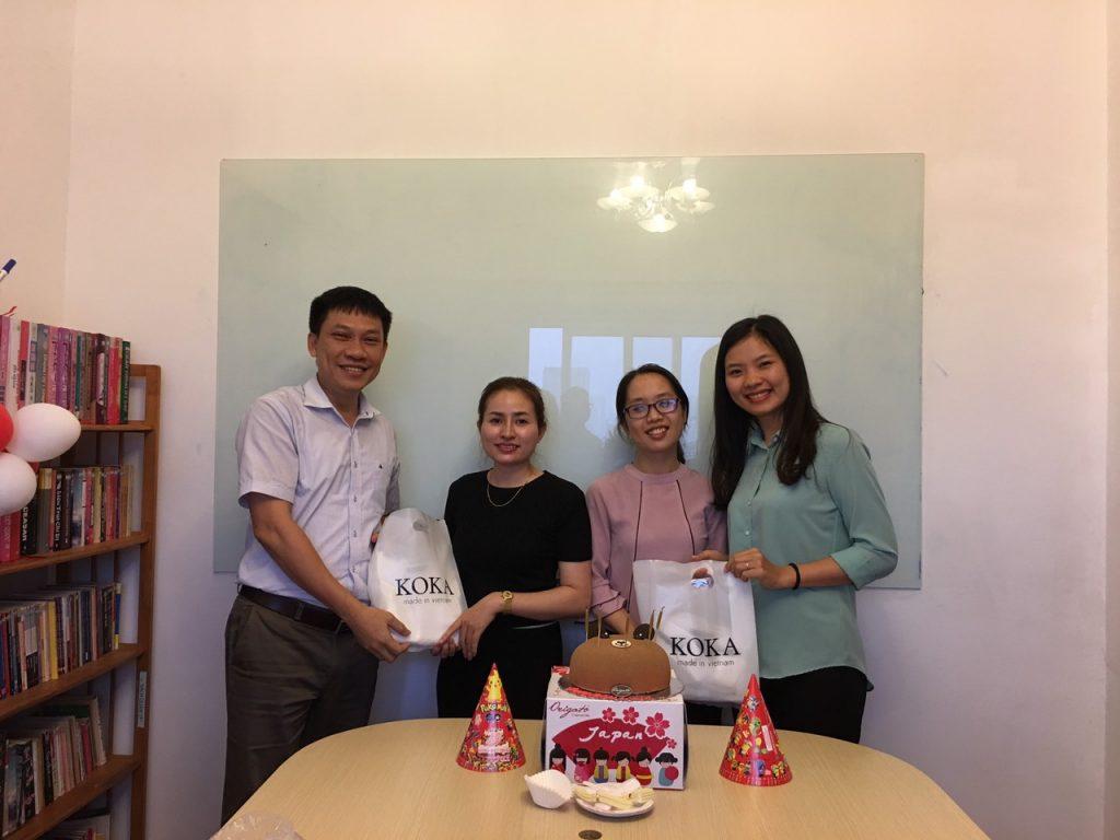 Chúc mừng sinh nhật CBNV tháng 4 tại Sông Hồng ICT Phương Nam
