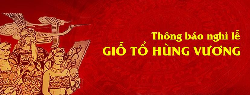 Sông Hồng ICT Phương Nam thông báo nghỉ lễ Giỗ tổ Hùng Vương