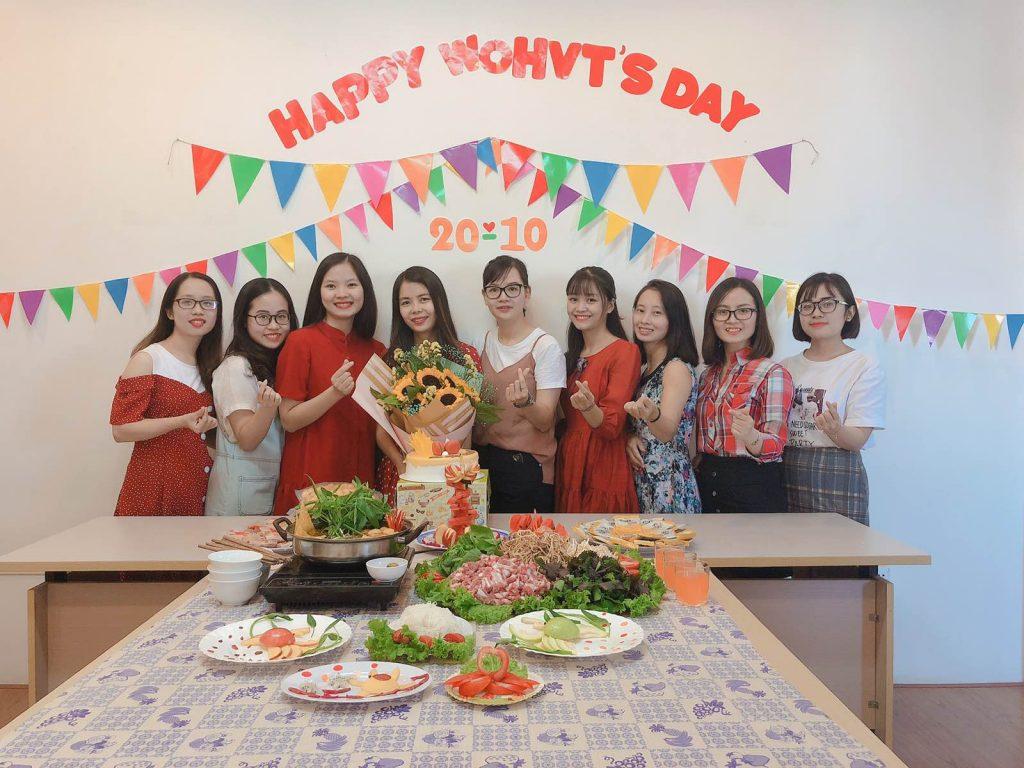 HVT Group chào mừng Ngày phụ nữ Việt Nam 20/10